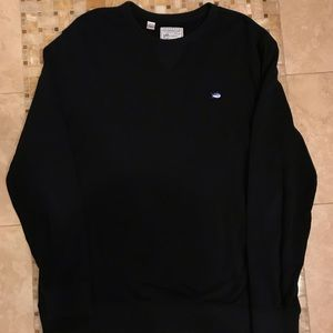 Southern Tide Upper Deck Crewneck (Black, Large)